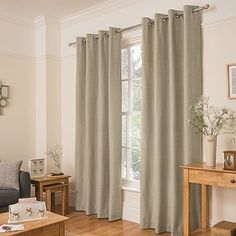 George home Oatmeal Cosy Brushed Curtains | Home & Garden | George at ASDA