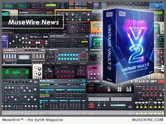 UVI announce OB Legacy synth and Vintage Vault 2 synthesizer collection Technology Magazines, Music Industry, Vaulting, Electronic Music, Vintage, Vintage Comics