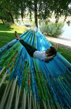 Relax, #Flora #curaçao by LA SIESTA    Life is a Hammock