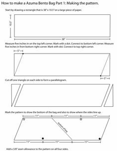 This tutorial is based on a pattern I found in the Japanese pattern book pictured below. My daughter's Japanese teacher helped me translate the instructions, and I converted the measurements from m...