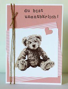 Stampin Up, Unentbärliche Grüße / Baby Bear, Muttertag / Mother's Day