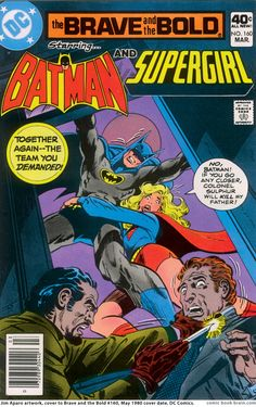 DC Comics Showcase, Brave and the Bold #160, cover by Jim Aparo, 1980.