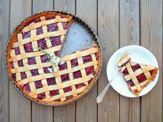Live to Bake: Tvarohový mriežkový koláč Toffee Bars, Chocolate Truffles, Sweet Cakes, Apple Pie, Waffles, Cheesecake, Deserts, Dessert Recipes, Food And Drink