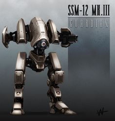 Squad Support Mech-12 Mark III by Hazzard65.deviantart.com on @DeviantArt