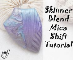 In this tutorial Ill show you how to create a beautiful Skinner Blend Mica Shift and a Mica Smash using alcohol ink tinted polymer clay. Tinting your metallic clays with alcohol inks Polymer Clay Canes, Polymer Clay Miniatures, Polymer Clay Pendant, Fimo Clay, Polymer Clay Projects, Polymer Clay Earrings, Clay Crafts, Kid Crafts, Clay Videos