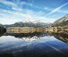 Doppeltes #Altausse #salzkammergut by eaglepowder