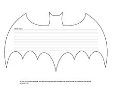 bat template Education World: Bat Bulletin Board Template Superhero Bulletin Boards, Superhero Classroom Theme, Superhero Room, Classroom Bulletin Boards, Classroom Themes, Classroom Activities, Superhero School, Superhero Ideas, Halloween Activities