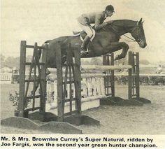 1810cc41 Joe Fargis and Super Natural Cute Ponies, Hunter Jumper, Show Jumping,  Thoroughbred,