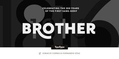 Check out the Brother 1816 font at Fontspring.