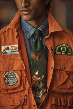 Polo Ralph Lauren, Vogue, Fashion Labels, Men's Collection, New Outfits, Canada Goose Jackets, Classic Style, Military Jacket, Fall Winter