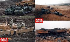 The £4million German tank being embarrassed in Syria