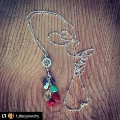 #Repost @tulaajewelry  Are you participating in the #rockasana challenge? If you are one of you will win an Om Chakra necklace!  Designed with a specific stone for each chakra Root: ruby and coral Sacral: Carnelian Solar Plexus: Citrine Heart: chrysoprase Throat: Amazonite Third Eye:Iolite Crown: amethyst  It's been awesome seeing all your posts can't wait to see who wins!  ##handmade #jewelrydesign #yoga #yogajewelry #reiki #reikijewelry #chakras #silver #tulaajewelry #energy #healing…