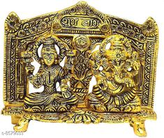 Checkout this latest Religious Idols Product Name: *Laxmi Ganesh Idol Showpiece with Oil Lamp Diya* Material: Metal Pack: Pack of 1 Country of Origin: India Easy Returns Available In Case Of Any Issue   Catalog Rating: ★4 (239)  Catalog Name: Classic Idols & Figurines CatalogID_1453771 C127-SC1615 Code: 253-8579033-159