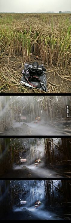 Creating another Dagobah