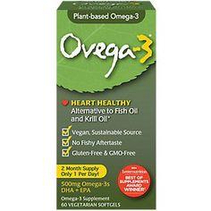 i-Health – Plant Based Omega 3 – 500 MG Vegetarian Softgels) Vegan Protein Supplement, Best Vegan Protein, Vegan Vitamins, Krill Oil, Cod Liver Oil, Health Shop, Holistic Nutrition, Fish Oil, Omega 3