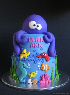 Geek Sweets – UNDER THE SEA CAKE