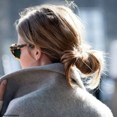 Hair Inspiration: The Low Knot