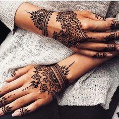 Image de henna, tattoo, and black