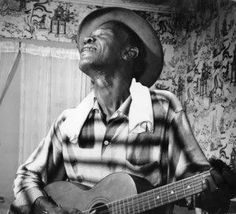 Lightnin Hopkins guitar