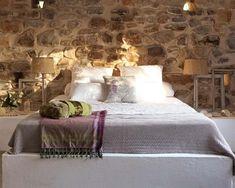 Chic & Deco: PAREDES DE PIEDRA PARA UNA CASA DE CAMPO [] STONE WALLS FOR A COUNTRY HOUSE