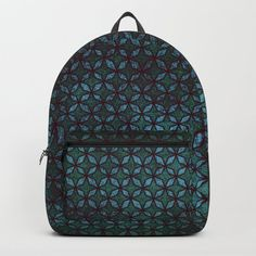 "Designing our premium Backpacks is a meticulous process, as Artists have to lay out their artwork on each component. One size fits all men and women, with heavy-duty construction that's able to handle the heavy lifting for all your school and travel needs.     - Standard unisex size: 17.75"" (H) x 12.25"" (W) x 5.75"" (D)   - Crafted with durable spun poly fabric for high print quality   - Interior pocket fits up to 15"" laptop   - Padded nylon back..."