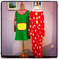 Pippi Langstrumpf und Clown