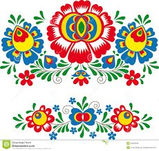 Hungarian Floral Folk Pattern - Kaloscai Embroidery With Flowers And Paprika Stock Illustration - Illustration of culture, frame: 50410139 Mexican Embroidery, Folk Embroidery, Learn Embroidery, Embroidery Patterns, Bordado Popular, Stock Foto, Bird Patterns, Antique Quilts, Motif Floral