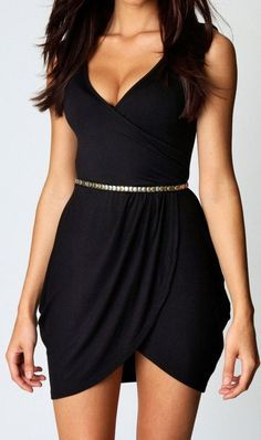 Cute little black dress. http://momsmags.net/best-little-black-dresses-perfect-prom-nights-2015/