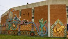 Philadelphia Mural Arts: The Worlds Largest Outdoor Art Gallery Malerie Yolen-Cohen