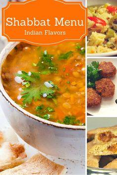 Indian Flavored Shabbat Menu - Joy of Kosher