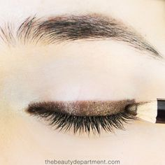 The secret is out! We're sharing the best Smoky Smudge trick in today's Bronzed Bedroom Eyes tutorial! Click through to check it out!