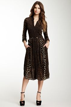 Silk Blend Dress
