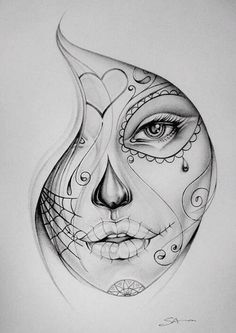 Drawing idea, I like this because the drawing has a lot of detail relating to a Halloween theme.