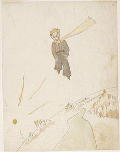 ilustraciones originales de El Principito9