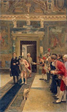 Le Seigneur,1903 by Luis Jimenez y Aranda (Spanish 1845-1928)