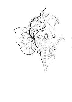 Mandala Elephant Tattoo, Small Mandala Tattoo, Mandala Tattoo Design, Elephant Tattoos, Tattoo Designs, Ganesha Tattoo Mandala, Geometric Elephant Tattoo, Geometric Mandala Tattoo, Boho Tattoos