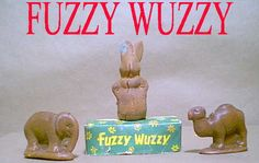 Several variations of this novelty soap were quite popular in the 1950's and 1960's. They all grew 'fur' when set in the open air.