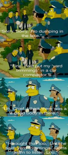 Ahahahahah, I love the Simpsons!! :')