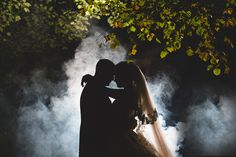 liverpool wedding photographer creative portrait with smoke and flash fashion styled