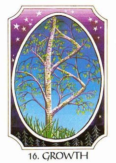 16. Growth (Berkano) - Rune Cards by Ralph Blum Illustrated by Jane Walmsley