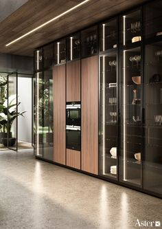 Celebrating essential lines, material and purity. Thats the new shape of Contempora. Luxury Kitchen Design, Kitchen And Bath Design, Contemporary Kitchen Design, Kitchen Cabinet Design, Home Decor Kitchen, Interior Design Kitchen, Kitchen Cabinets Showroom, Modern Kitchen Cabinets, Custom Kitchens