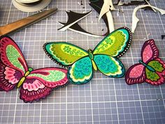 AB Creations: Fabric Butterfly Necklace Tutorial