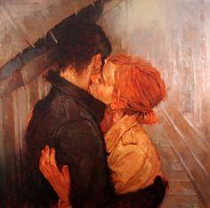 Art by Joseph Lorusso Joseph Lorusso, Romance Art, Illustration Art, Illustrations, Classical Art, Renaissance Art, Old Art, Pretty Art, Aesthetic Art