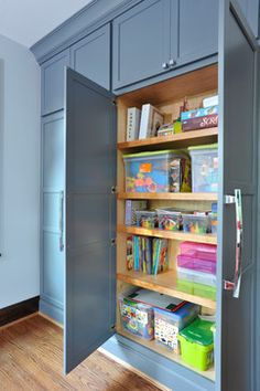 Daycare Design Ideas, Pictures, Remodel, and Decor - page 13 Daycare Storage, Daycare Setup, Kids Daycare, Home Daycare, Cubby Storage, Daycare Crafts, Basement Daycare Ideas, Storage Ideas, Daycare Room Design
