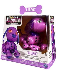 Zoomer Zuppies Interactive Puppy - Lilac Zoomer http://www.amazon.com/dp/B00MJ48BQK/ref=cm_sw_r_pi_dp_1VuAub0T48165