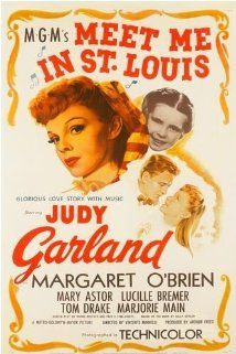 """""""Meet Me In St. Louis"""" (1944).In the year before the 1904 St Louis World's Fair, the four Smith daughters learn lessons of life and love, even as they prepare for a reluctant move to New York.  Great classic with great songs and Judy Garland."""