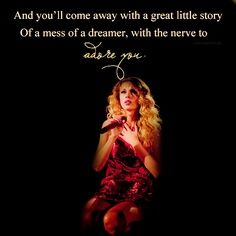 Taylor Swift- As cold as you..<3