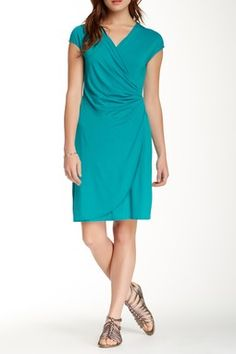 Tommy Bahama Tambour Side Gathered Dress
