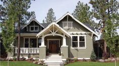 This charming Craftsman design makes the most of every square foot with its open layout. Description from floorplans.com. I searched for this on bing.com/images