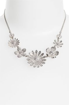 missed out on this :(  love jewelry with floral morifs!  Nadri 'Eden' Floral Collar Necklace (Nordstrom Exclusive) available at #Nordstrom